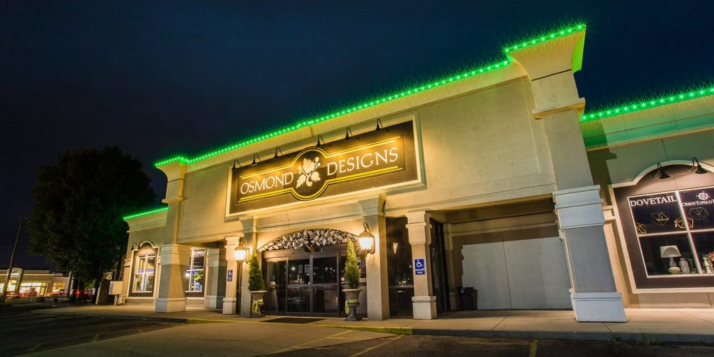 Commercial Exterior LED Lighting